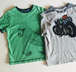 Boys Hanna Anderson t-shirts